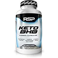 RSP Keto BHB - Carbohydrate Free Fuel, Convert Fat into Energy with Exogenous Ketones Capsules, Perfect Keto Supplement to Accelerate Ketosis, Boost Energy, and Increase Focus in Ketosis, 60 Servings
