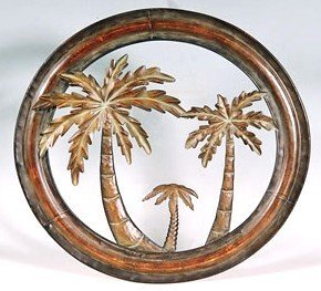 Palm Plaque - Collectible Badges Decorative 16