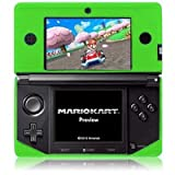 Modern-Tech Flexible Soft Silicone Skin Case for Nintendo 3DS - Green