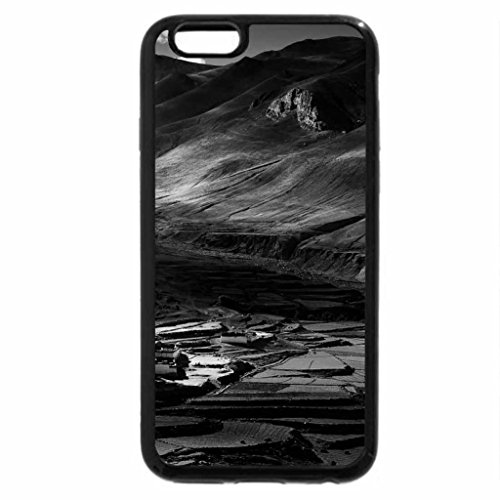 iPhone 6S Plus Case, iPhone 6 Plus Case (Black & White) - At the foothills