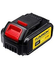 Floureon Ersatzakku 18V 4.0 Ah Akku Ersatz Batterie für DEWALT DCB200, DCB181, DCB182 DCD780 DCD785 DCD795 DCF885 DCF895 Cordless Drill Driver, DCS380, DCS391 usw.