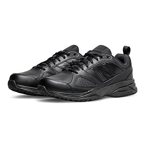 d'entrainement 6E Black Ab4 Black Width SS18 New Balance Noir Chaussures Leather MX624v4 qw7qIxfX