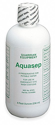 Eye Wash Preservative, For Use With Guardian Eye Wash Stations