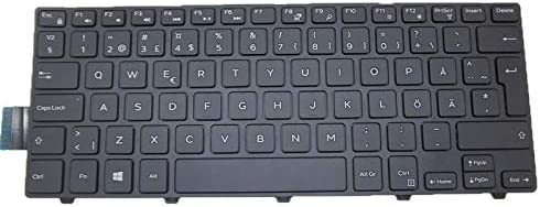 Laptop Keyboard for DELL Inspiron 14 5447 3441 3442 5442 5445 7447 SD Sweden V147125AK1 SD PK1313P2A16 0P2H6C P2H6C