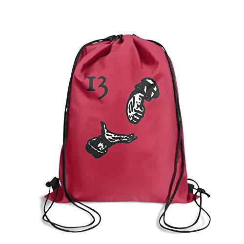 Eoyles Personalized Shopping Bag Women NFL Stadium Approved Sack Drawstring Backpack Bag ()