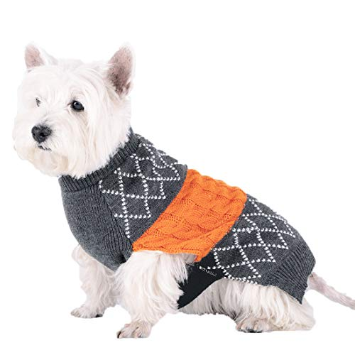 kyeese Dog Sweater for Large Dogs Knit Pullover Warm Pet Clo