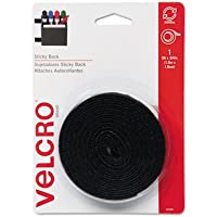 VEK90086 - Velcro Sticky-Back Hook and Loop Fastener Tape with Dispenser