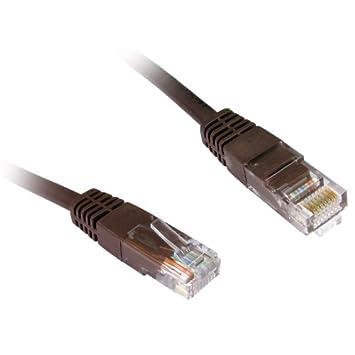 100 x 0,5 m Ethernet/Cable de conexión - marrón