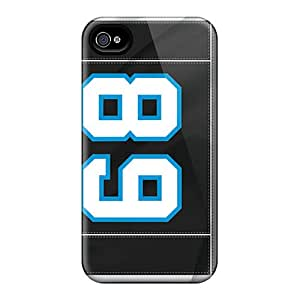 Tpu Cases Covers For Iphone 6 Strong Protect Cases - Carolina Panthers Design
