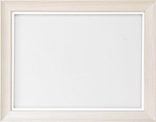 同志舎 油彩用額縁 キュート アクリル仕様 壁用フック付 (サムホール, 乳白) B01M5JW9ME サムホール|乳白 乳白 サムホール