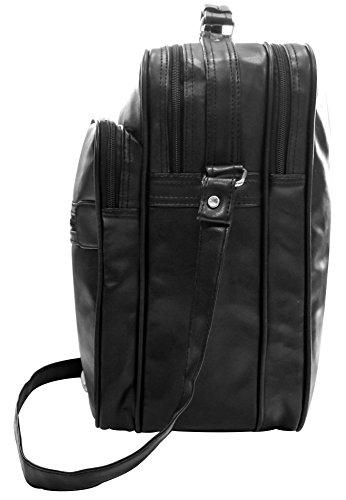 negro Negro Bolso Wear Negro negro 111 al FK hombre Hochformat para hombro Halal zOC5x8qwq