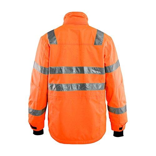 Blaklader Workwear Hivis Parka Coat Orange S