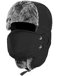 Winter Trooper Trapper Hat Hunting Ushanka With Windproof Mask Ear Flap