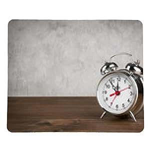 alfombrilla de ratón Alarma en la mesa de la cosecha de fondo - rectangular - 23cm x 19 cm