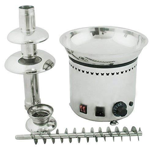 ALDKitchen Chocolate Fountain Machine Stainless Steel Chocolate Fondue Fountain for Party Wedding (4 Tiers) by ALDKitchen (Image #1)