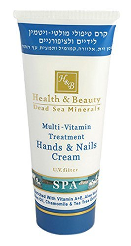 Hand & Nail Multi-Vitamin Cream Treatment for Dry Normal Skin 180ml