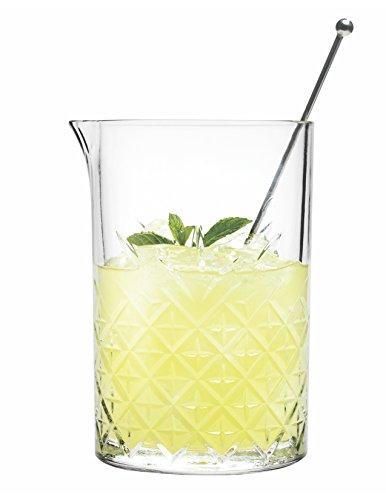 Hospitality Glass Brands 52849-006 Timeless Mixing Beaker, 24.25 oz. (Pack of - O Glasses Brand
