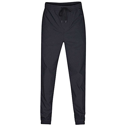 Hurley - Mens Dri-Fit Jogger Pants, Size: Medium, Color: Black