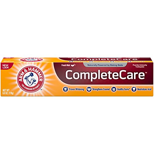 Arm & Hammer Complete Care Toothpaste, 6 oz (Pack of 6) (Packaging May Vary) - Hammer Complete Care Toothpaste