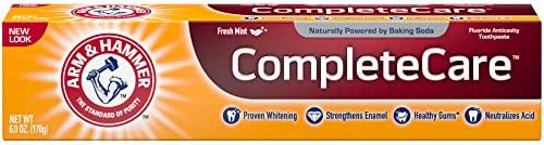 Toothpaste: Arm & Hammer Complete Care