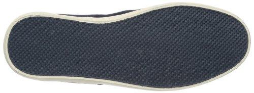 Element TOPAZ SUEDE - Zapatillas de cuero hombre azul - Blau (NAVY ANTIQUE 6902)