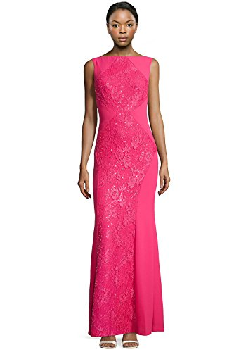 ML-Monique-Lhuillier-Sequined-Lace-Inset-Evening-Gown-Dress