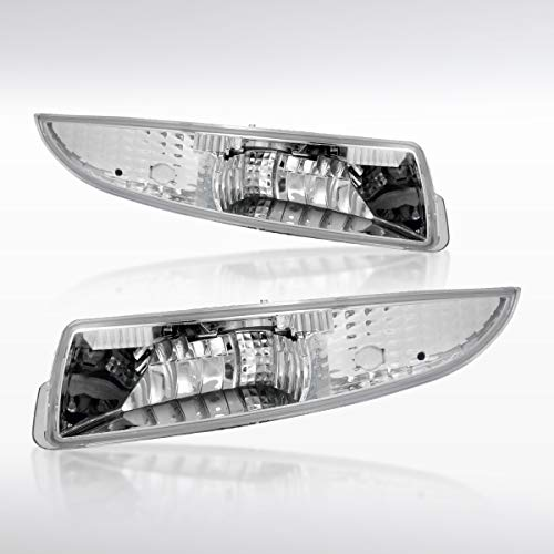 Autozensation For Chevy Camaro Clear Front Turn Signal Parking Bumper Lights