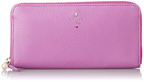[랑방 온 블루] LANVIN en Bleu Amazon공식 정규품 《샤페루》 라운드 패스너 장지갑