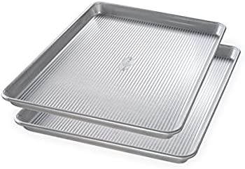 2-Set USA Pan Bakeware 1300ST Half Sheet Pan