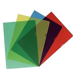Herlitz - Carpeta tamaño A4, varios colores 11420254, transparente