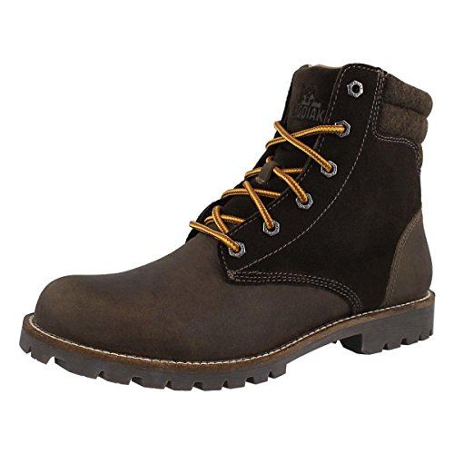 Bronx Mens Boots - Kodiak Men's Bronx Waterproof Lace Up Ankle Boot Olive 11 M US
