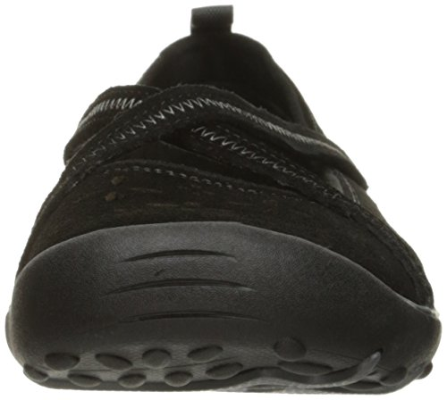 Suede Earth Sustainability Charcoal Black Flat Fest Skechers Women's Chocolate Trim 5wx8W0q