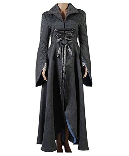 TISEA Womens Halloween Trench Cosplay Arwen Chase Dress Costume Coat -