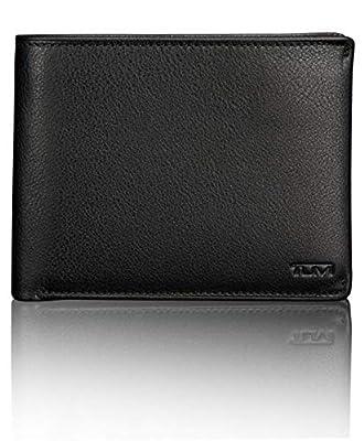 Tumi Nassau Global Removable Passcase Wallet, Black Texture