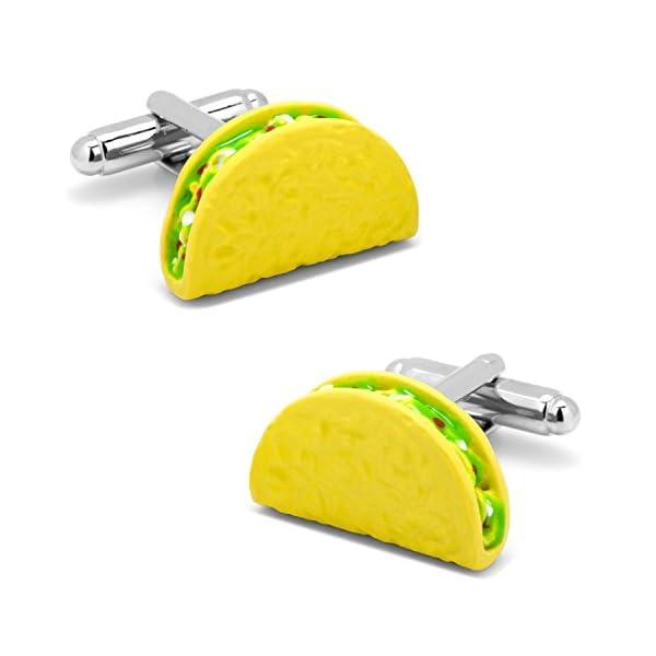 Cufflinks-Inc-Mens-3D-Taco-Cufflinks