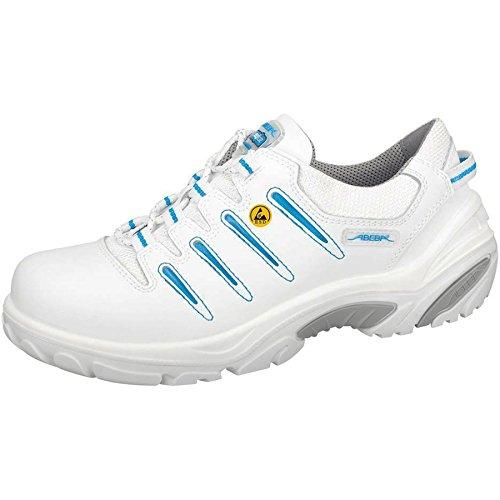 Abeba Crawler Chaussure de sécurité bas ESD Taille 39 Blanc/Bleu