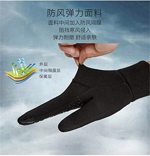 YKKJ Winter Gloves Men Warm Gloves Anti-slip Touchscreen Gloves ,Lightweight Rainproof Windproof ,for Gardening Mechanic ,utdoor Sports Running Driving Biking Motorcycle Builders