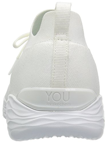 Skechers Womens You-shine Sneaker Bianca