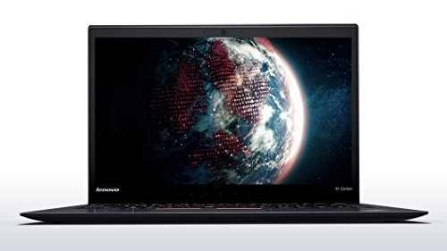 Lenovo ThinkPad X1 Carbon 3rd Generation 2015 - Windows 10 Pro Business Ultrabook - Intel Core i7-5600U, 256GB SSD, 8GB RAM, 14