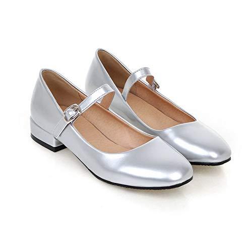 DGU00486 Silver Sandali con Donna 35 Zeppa AN Argento EU AdYqn7wZ