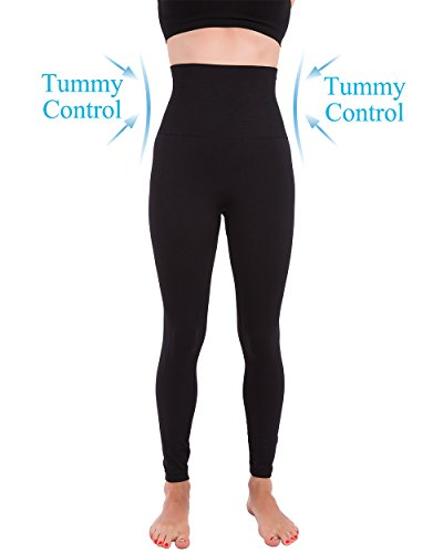 Homma Premium Thick High Waist Tummy Compression Slimming Leggings 2
