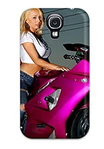EALzl1187SiIqt StarFisher Defender PC Hard For Case HTC One M7 Cover - Motorcycle Girls