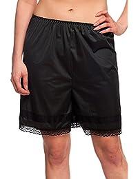 "Patricia Lingerie Anti-Static Split Skirt Pettipant Half Slip Snip-It 17"" and 19"""