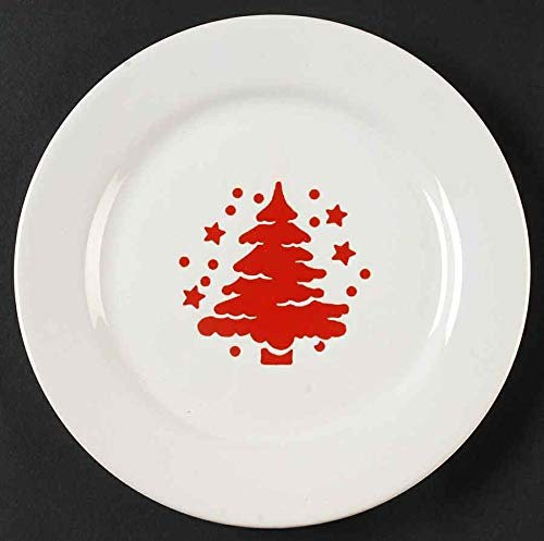 Used, Waechtersbach Tannenbaum Salad Plate | Set of 4 | Red for sale  Delivered anywhere in USA