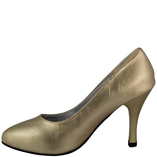 Spillo Tacco Pompa Parigi Oro V1419 Rasalle Lusso Oro A In Lucido w8aCgxgS