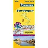 Sardaigne 366 carte local Italie