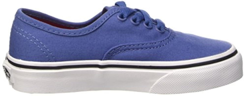 Vans Authentic, Unisex Kids' Low-Top Sneakers, Blue (sport Pop/bijou Blue/racing Red), 1 UK (32 EU)