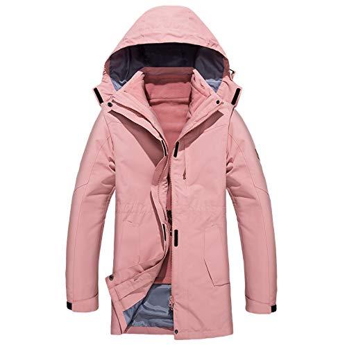 Donna Tuta Per Women Cappotto Uomo Pink Esterno Escursionistica Rimovibile Wq1XfXBAw
