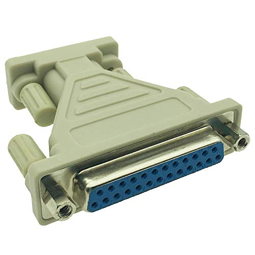 DONG DB9 Male to DB25 Female Serial Adapter - M/F (9Pin 25Pin)