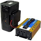 BiXPower XP430 Pure Sine AC Power Pack - 418 Watt-hour Super Capacity Battery with 300W Pure Sine Wave 110V AC Power Inverter - XP430